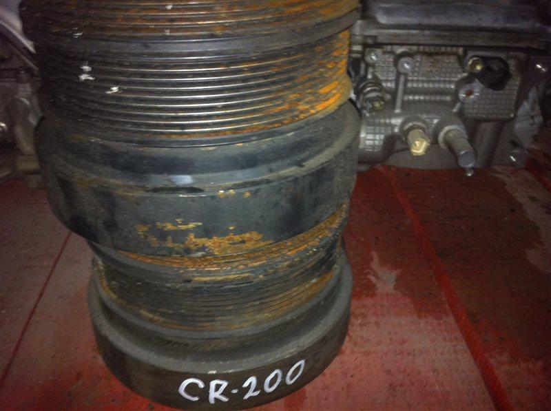 Шкив коленвала Toyota Land Cruiser 200 1VD
