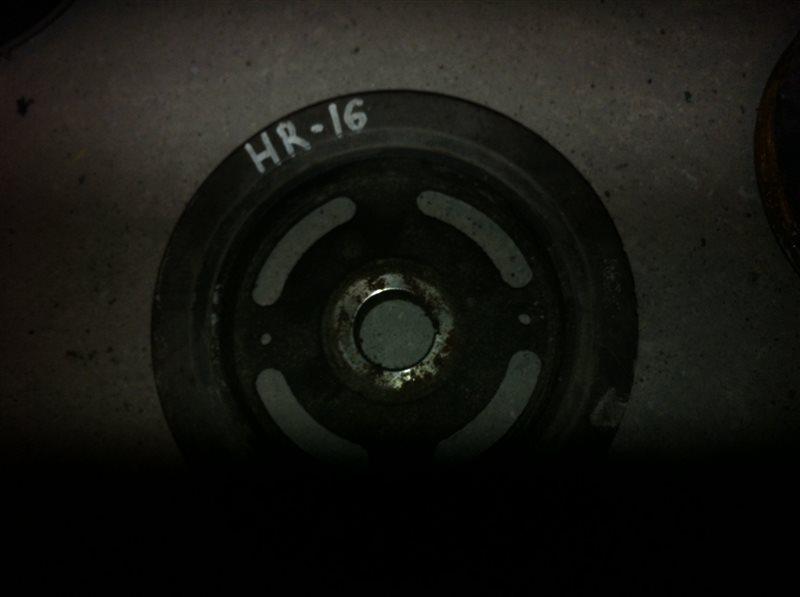 Шкив коленвала Nissan HR16