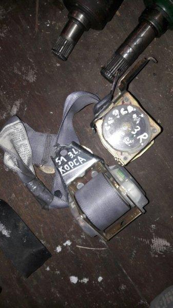 Ремни безопасности Toyota Corsa EL51, EL53, EL50 4EFE, 5EFE 1999 задние