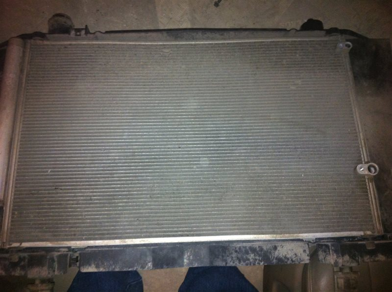 Радиатор кондиционера Toyota Corolla 150 1ZR 2010