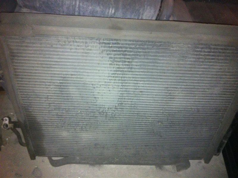 Радиатор кондиционера Mitsubishi Pajero 75 4M41 2005