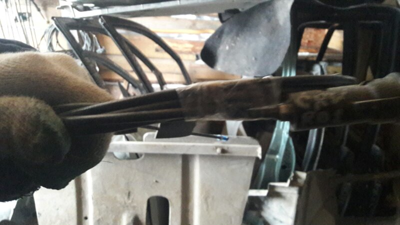 Тросик лючка бака Honda Crv RD1 B20B 1999