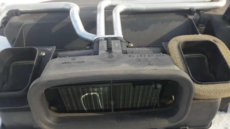 Радиатор отопителя Mercedes-Benz E240 WDB210 M112.911 E24 1998