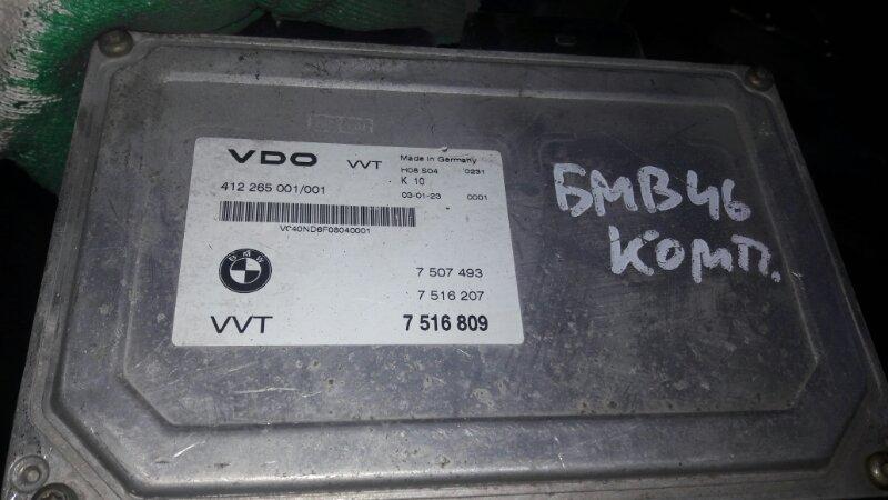 Блок управления двс, бортовой компьютер Bmw 318I E46 M52 N42 2003