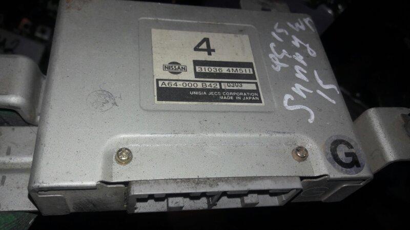 Блок управления акпп Nissan Sunny FB15, FNB15 QG15DE, QG13DE 2001