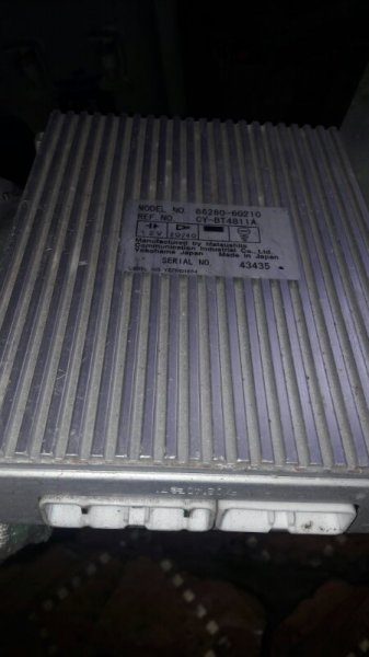Усилитель звука Toyota Land Cruiser UZJ100 2UZFE 1998