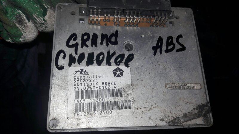 Блок управления abs Jeep Grand Cherokee ZJ 1996