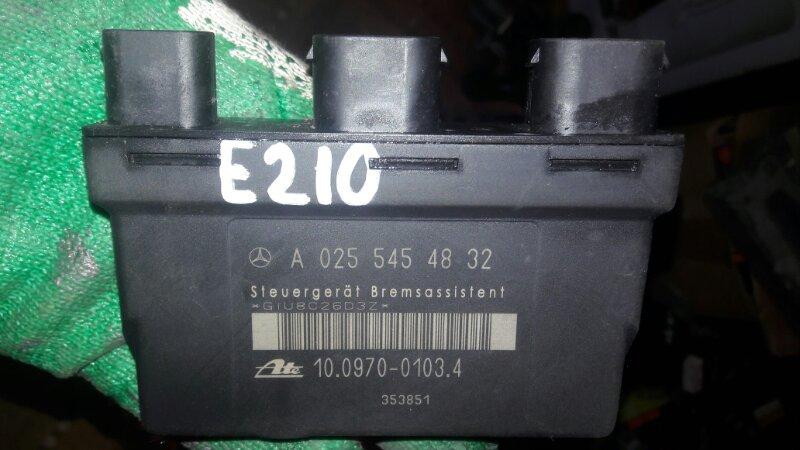 Блок управления abs Mercedes-Benz E240 WDB210 M112.911 E24 1998
