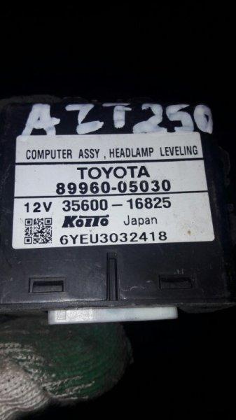 Блок управления фар Toyota Avensis AZT250, AZT255 1AZFSED4 2007