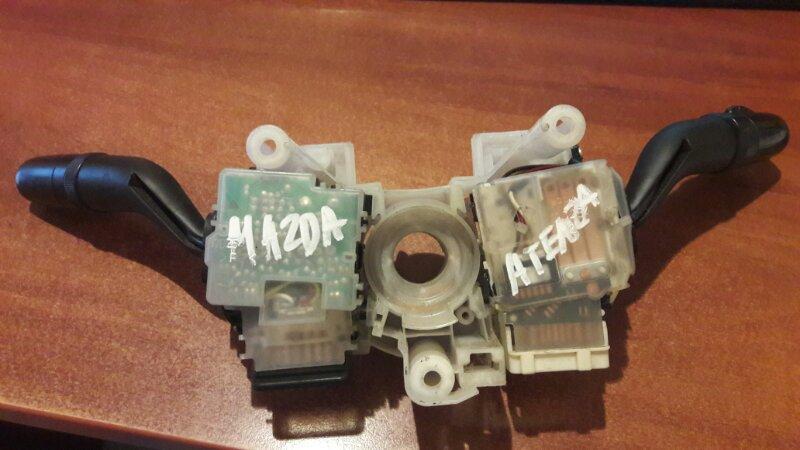 Блок подрулевых переключателей Mazda Atenza GG3P GG3S GGEP GGES GYEW GY3W 2005