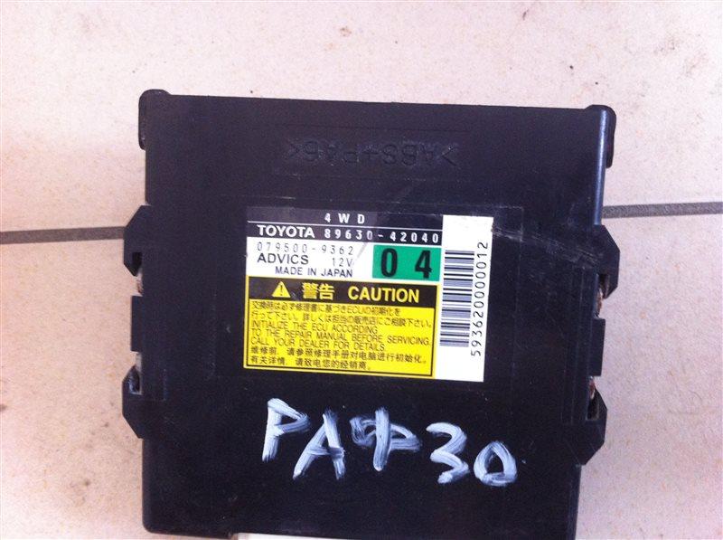 Блок управления полным приводом Toyota Rav4 30 2012
