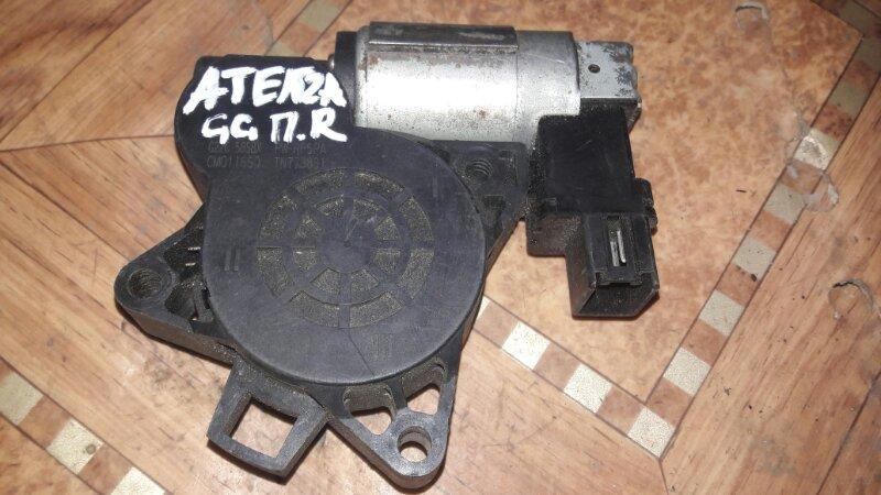 Мотор стеклоподъемника Mazda Atenza GG3P GG3S GGEP GGES GYEW GY3W 2005 передний правый