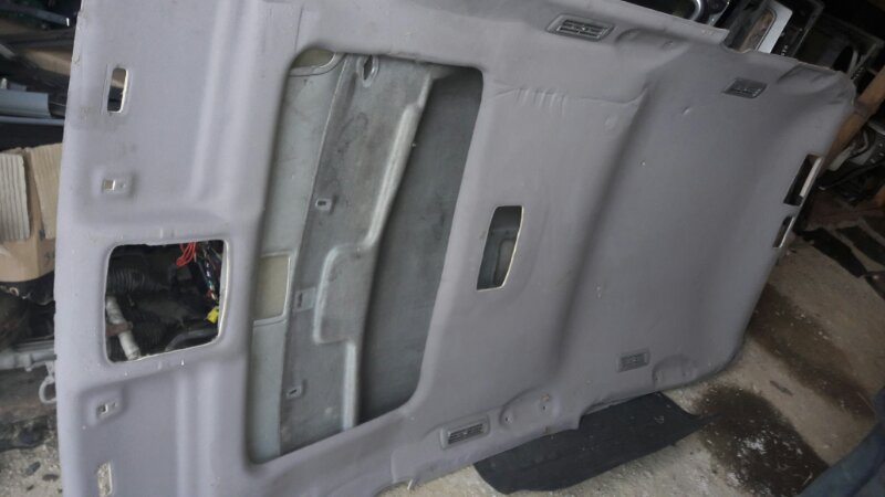 Обшивка потолка Lexus Gx470 UZJ120 2UZFE 2004