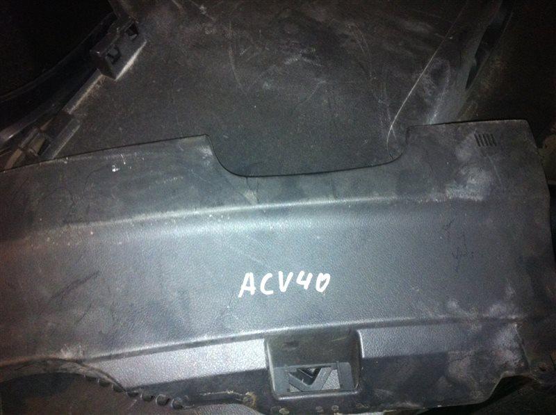 Обшивка салона Toyota Camry ACV40 2008