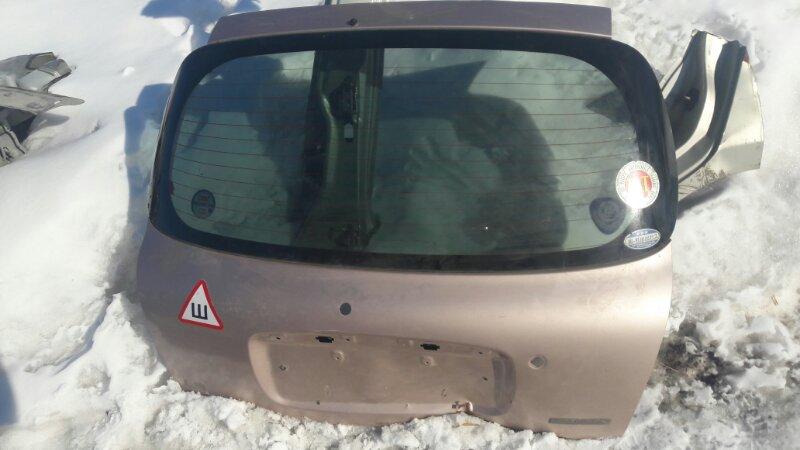 Дверь 5-я дверь багажника Daihatsu Storia Duet M101S, M100S EJVE, EJDE, K3VE