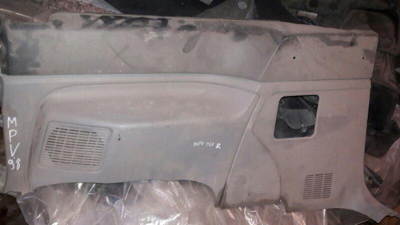 Обшивка пластик накладка багажника Mazda Mpv LVEW, LVLR, LVLW WL 1996 задняя
