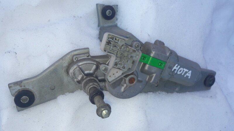 Мотор дворников двигатель стеклоочистителя Nissan Note E11 HR15 2005 задний