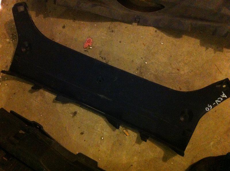 Обшивка пластик накладка багажника Toyota Camry ASV50 2012