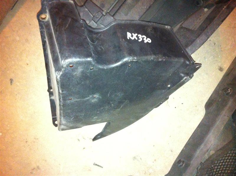 Защита под бампер Lexus Rx330 30 2005 задняя правая
