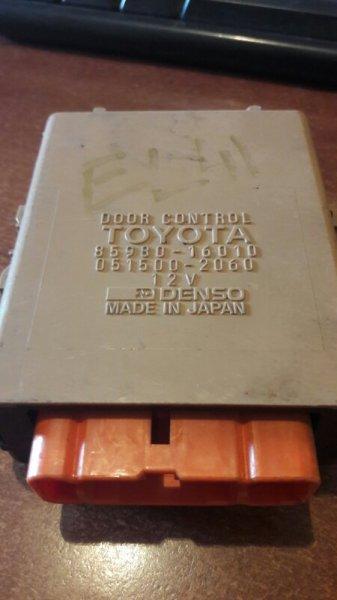 Блок управления Toyota Tercel EL41, EL43, EL44, EL45 4EFE, 5EFE 1993