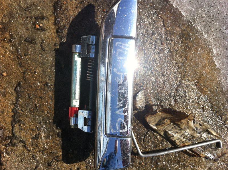 Ручка двери внешняя Nissan Bluebird 14 2000 передняя правая
