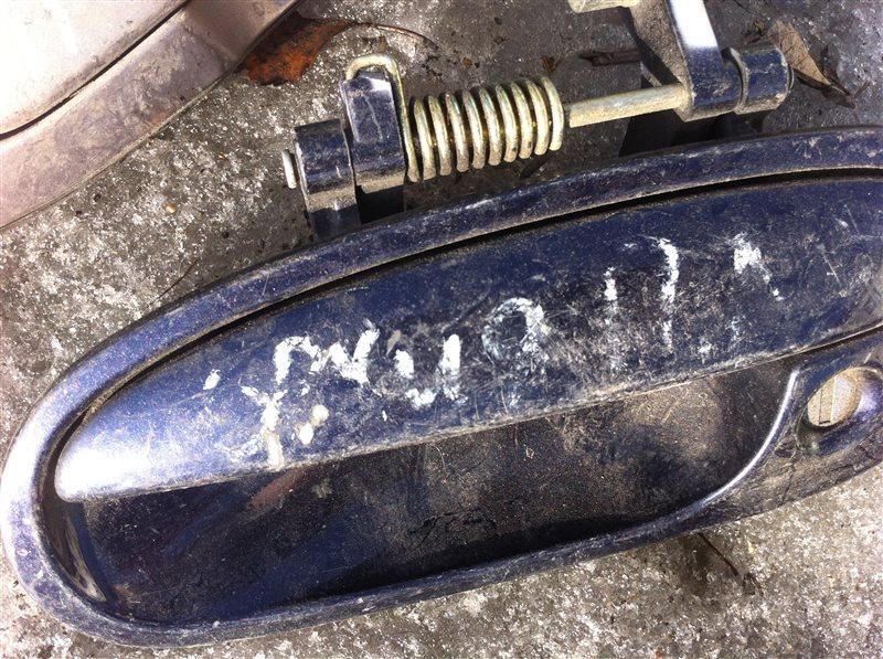 Ручка двери внешняя Honda Orthia 1999 передняя левая