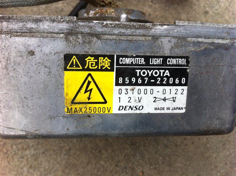 Блок ксенона Toyota Chaser JZX100 2000