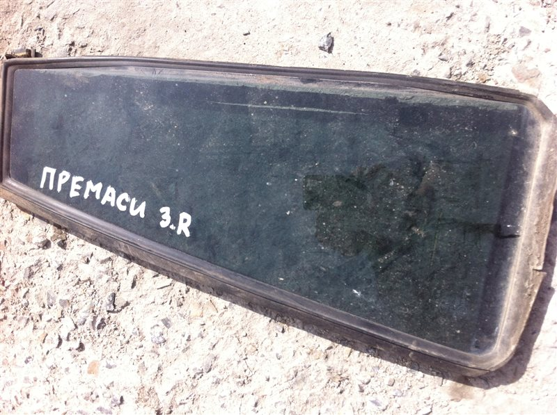 Форточка двери Mazda Premacy CP8W 2002 задняя правая