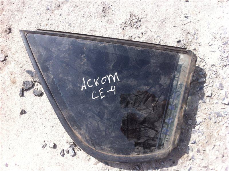 Форточка двери Honda Ascot CE4 1996 задняя правая