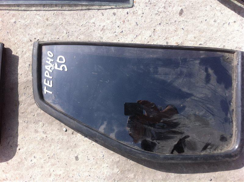Форточка двери Nissan Terrano 50 2000 задняя правая