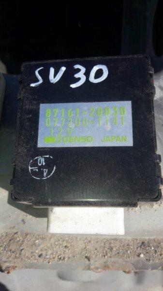 Блок управления печкой Toyota Camry SV35, SV30, SV32, SV33 3SFE, 4SFE 1992