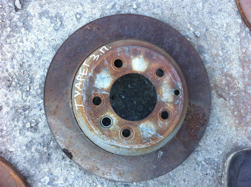 Тормозной диск Volkswagen Touareg 2008 задний