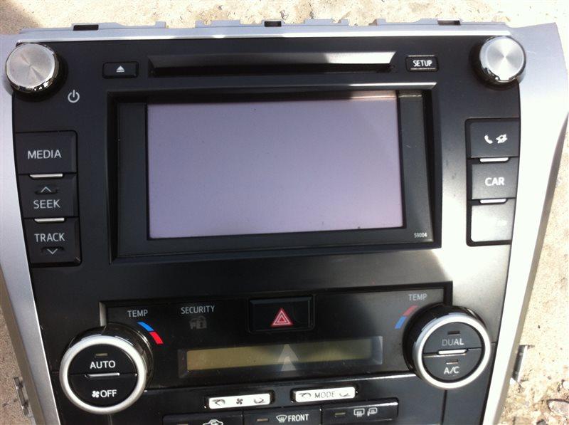 Монитор Toyota Camry ASV50 2012