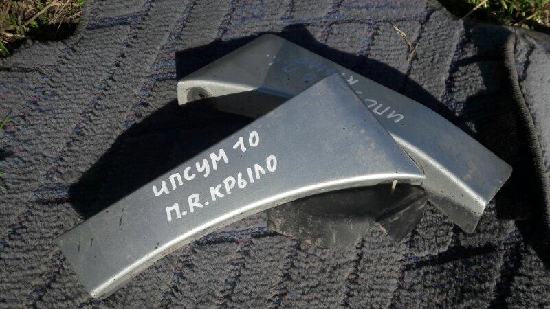 Накладка на крыло Toyota Ipsum SXM15 SXM10 3SFE 2000 передняя