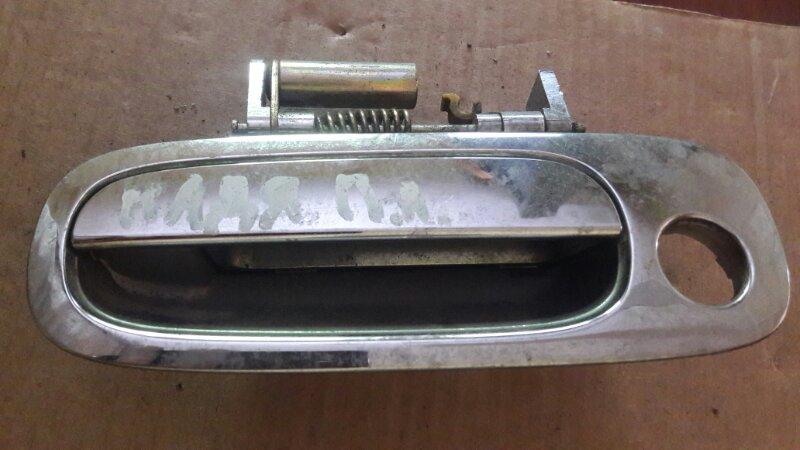 Ручка двери внешняя Toyota Nadia SXN10 3SFSED4 2001 передняя левая