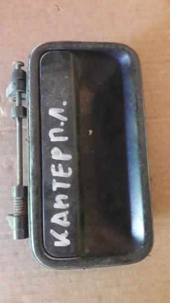 Ручка двери внешняя Mitsubishi Canter F435 1990 передняя левая