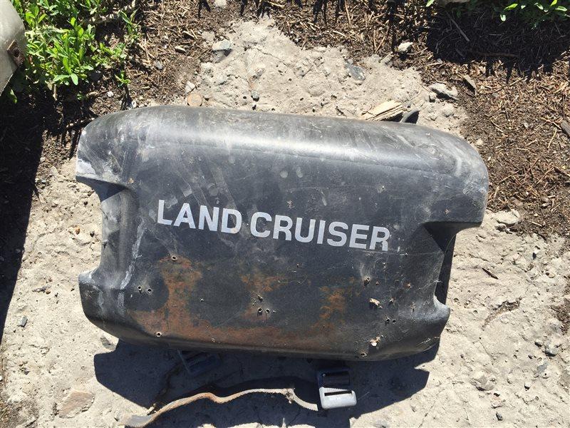 Накладка на бампер Toyota Land Cruiser 105