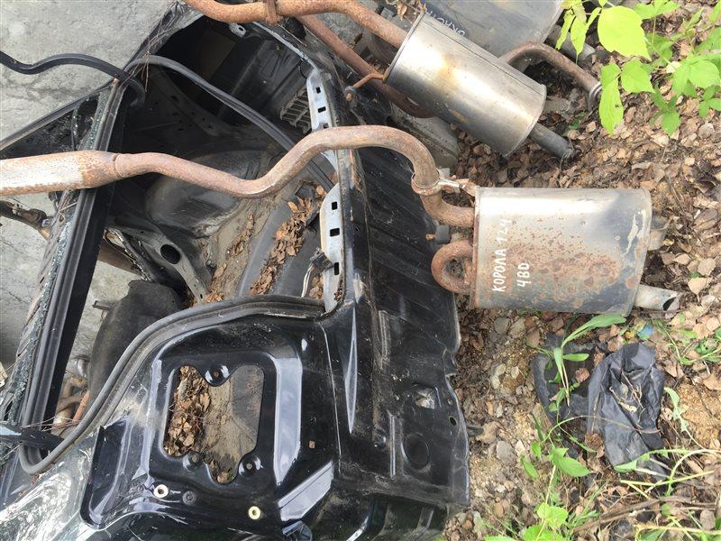 Глушитель Toyota Corolla Fielder NZE121, NZE122, ZZE121, ZZE122 1NZFE, 1ZZFE 2001