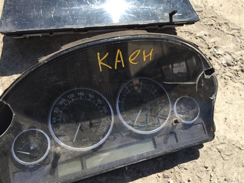 Щиток панель приборов Porsche Cayenne