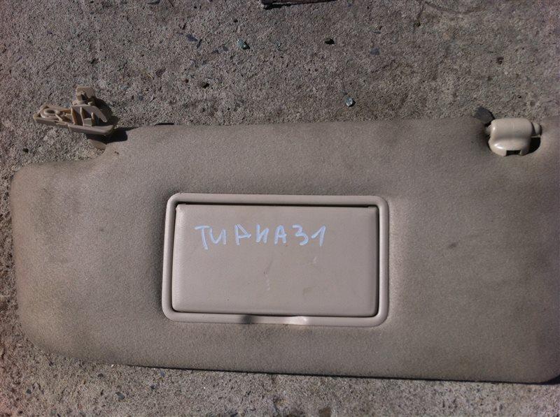 Козырек солнцезащитный Nissan Teana 31