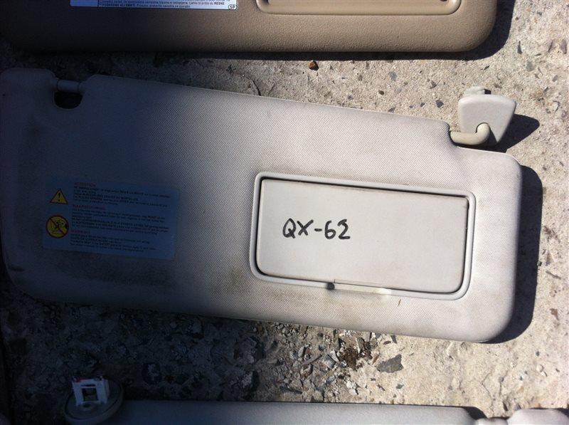 Козырек солнцезащитный Infiniti Qx56 Z62