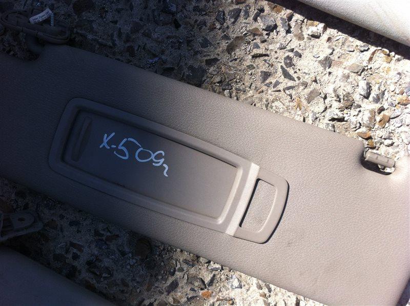 Козырек солнцезащитный Bmw X5 70 2009