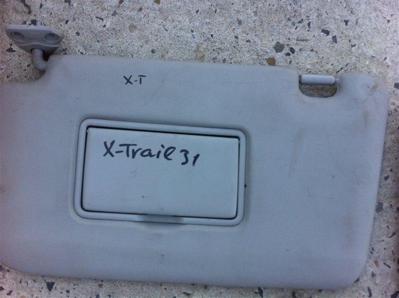 Козырек солнцезащитный Nissan X-Trail 31
