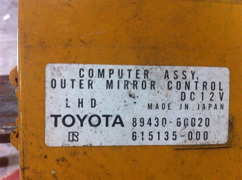 Блок управления зеркалами Lexus Lx470 100