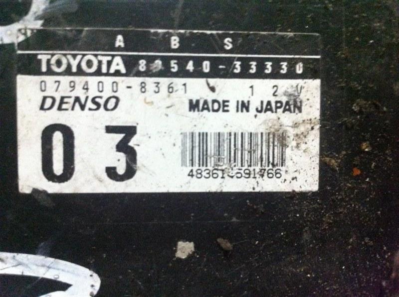 Блок управления abs Toyota Camry ACV30