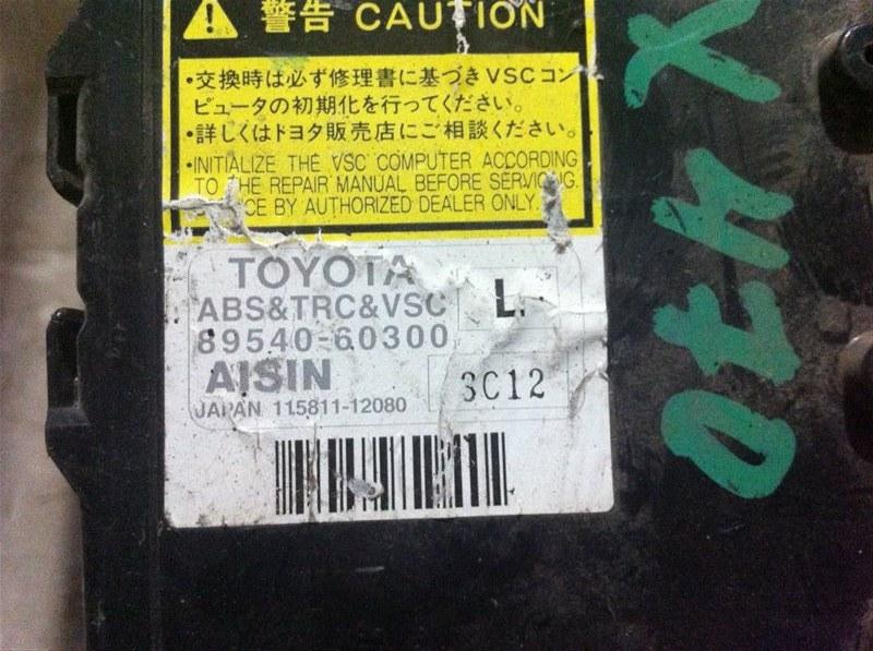 Блок управления abs Lexus Gx470