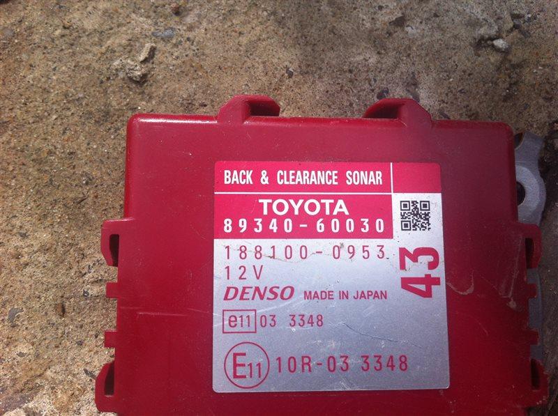 Блок управления парковкой Toyota Land Cruiser Prado 150 1KD 2015