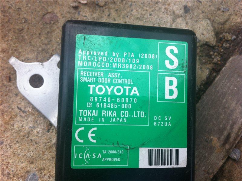Блок управления дверьми Toyota Land Cruiser Prado 150 1KD 2015