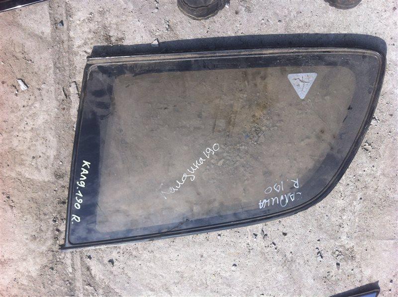 Стекло собачника Toyota Caldina 190 правое