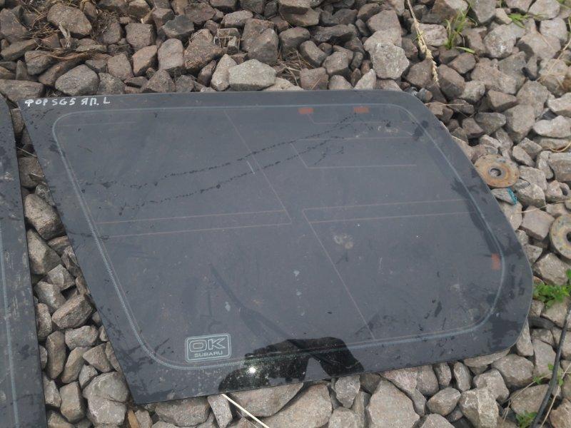 Стекло собачника Subaru Forester SG5 EJ20 2003